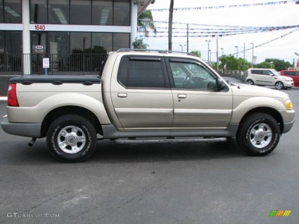 harvest gold metallic 2002 ford explorer sport trac