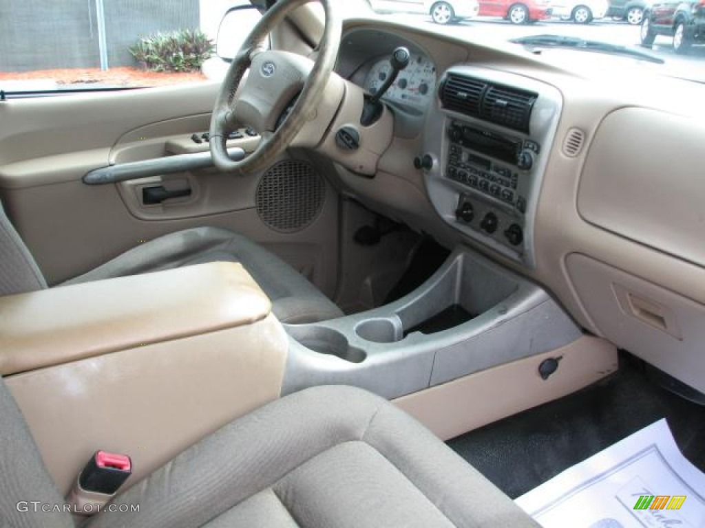 Medium prairie tan interior 2002 ford explorer sport trac - Ford explorer sport trac interior parts ...