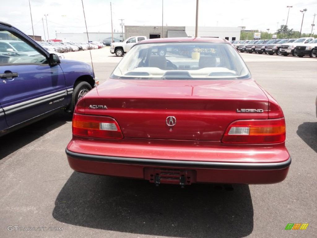 Persian Red Pearl Acura Legend Sedan Exterior Photo - Acura legend 1991