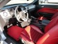 Red Leather Interior Photo for 2005 Ford Mustang #51241337