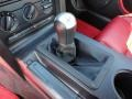 Red Leather Transmission Photo for 2005 Ford Mustang #51241343