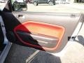 Red Leather Door Panel Photo for 2005 Ford Mustang #51241358
