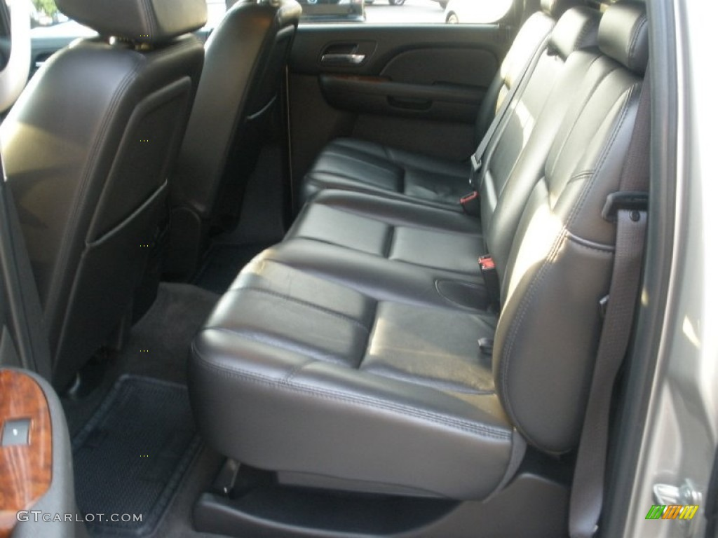 chevrolet avalanche interior ebony - photo #24