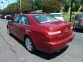 2008 Vivid Red Metallic Lincoln MKZ Sedan  photo #2