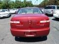 2008 Vivid Red Metallic Lincoln MKZ Sedan  photo #3