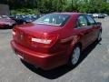2008 Vivid Red Metallic Lincoln MKZ Sedan  photo #4