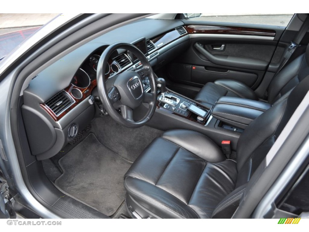 Black Interior 2006 Audi A8 4 2 Quattro Photo 51264617