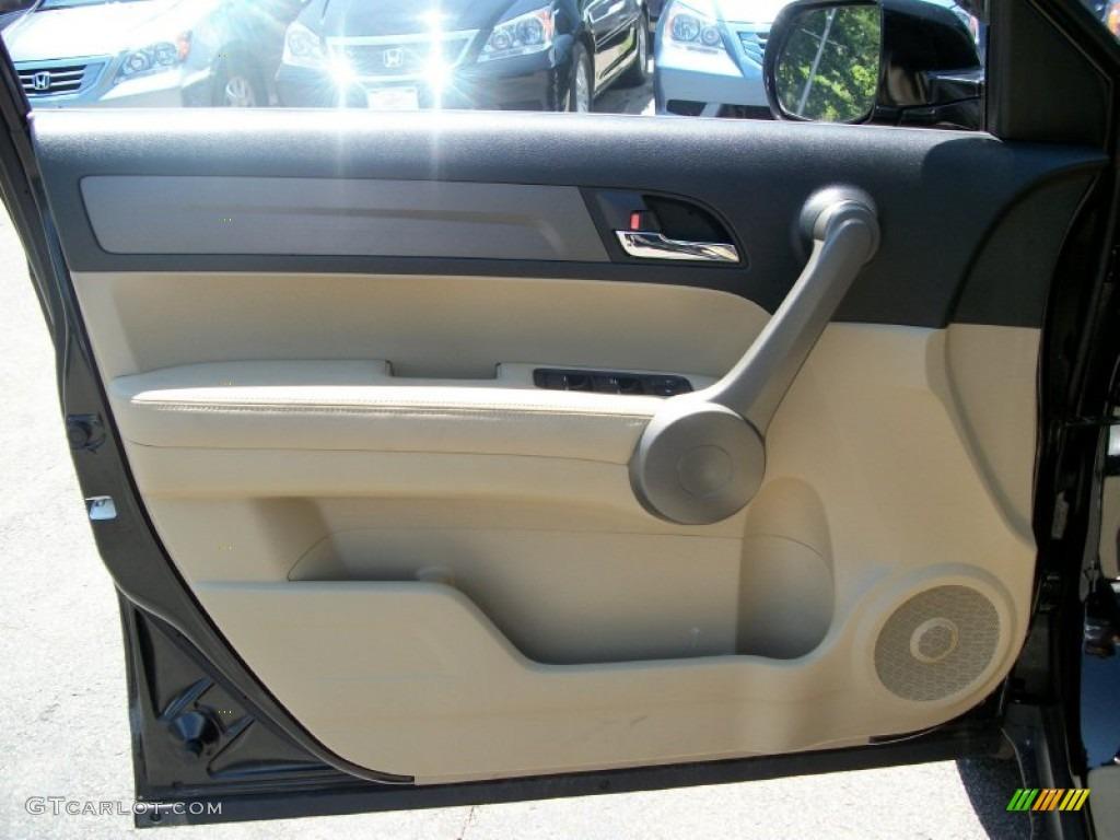 2008 CR-V EX-L 4WD - Royal Blue Pearl / Ivory photo #9