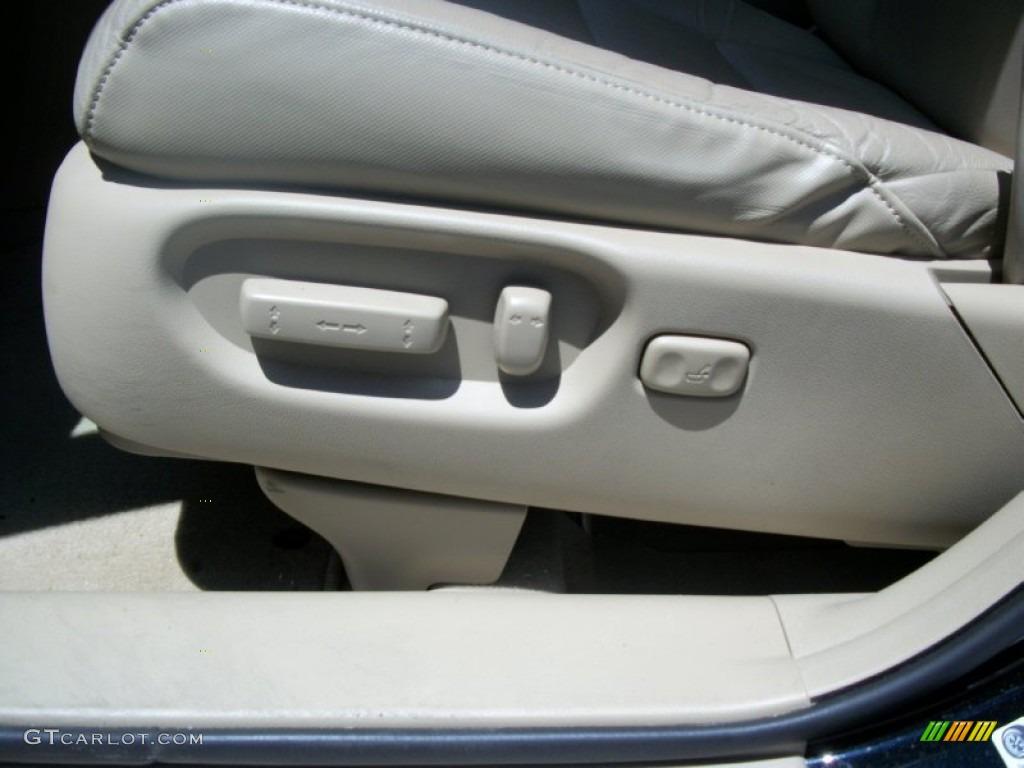 2008 CR-V EX-L 4WD - Royal Blue Pearl / Ivory photo #11