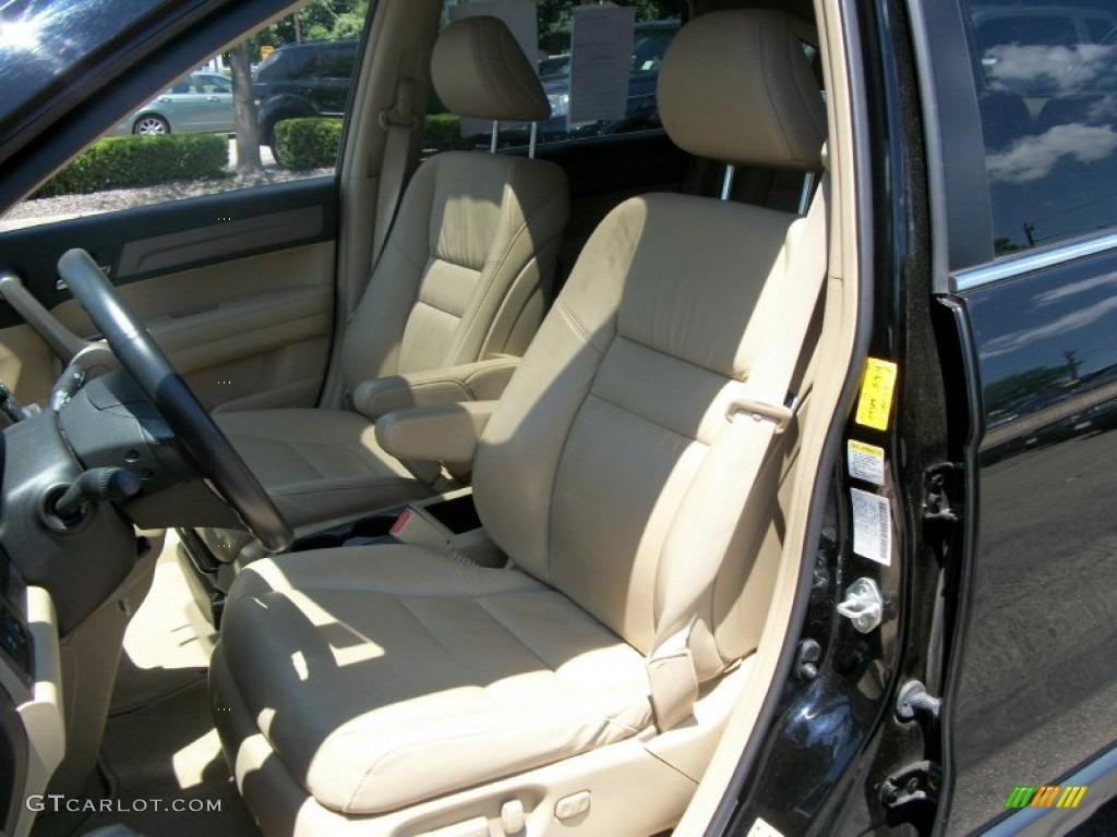 2008 CR-V EX-L 4WD - Royal Blue Pearl / Ivory photo #13