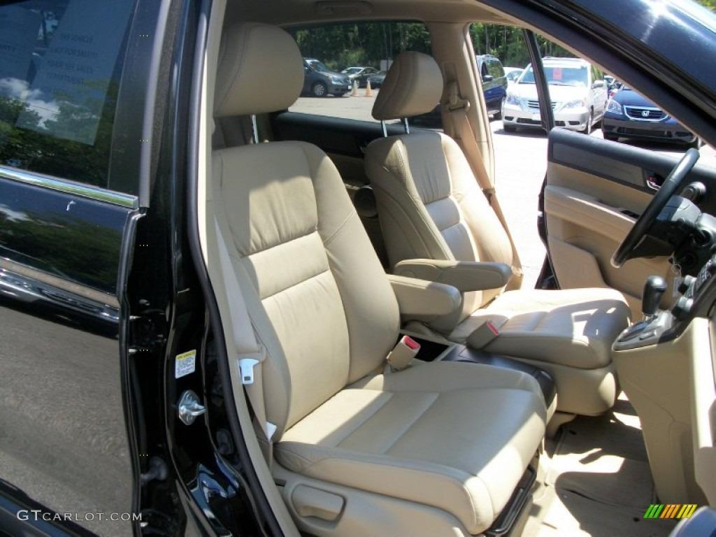 2008 CR-V EX-L 4WD - Royal Blue Pearl / Ivory photo #15