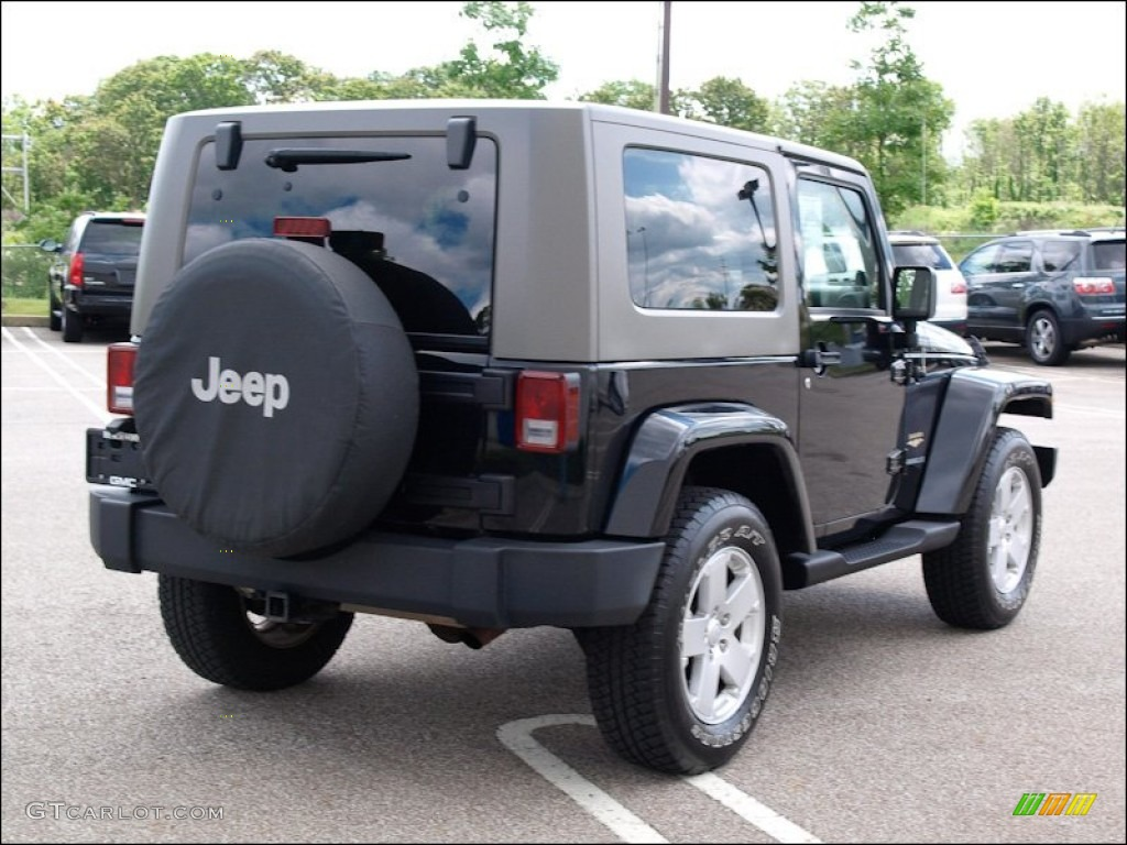 Black 2007 Jeep Wrangler Sahara 4x4 Exterior Photo 51279148