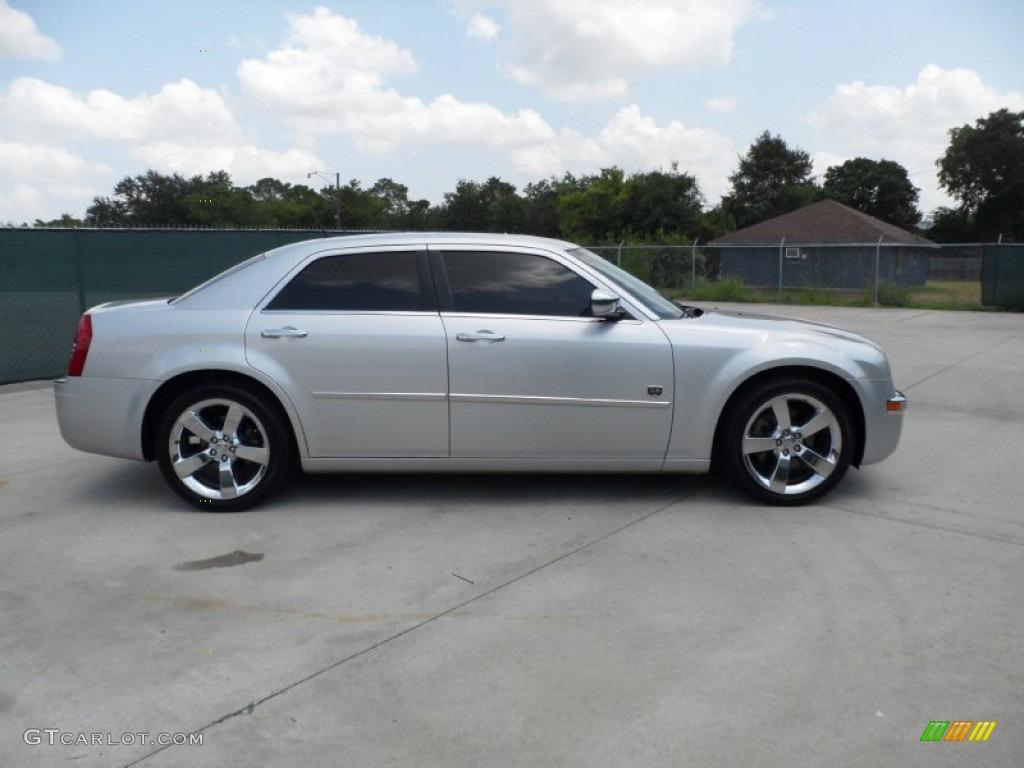 Bright Silver Metallic 2008 Chrysler 300 Touring Dub