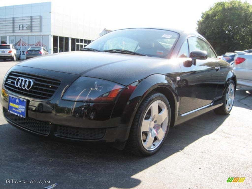 2002 raven black pearl effect audi tt 1 8t quattro coupe 51289593 car color. Black Bedroom Furniture Sets. Home Design Ideas