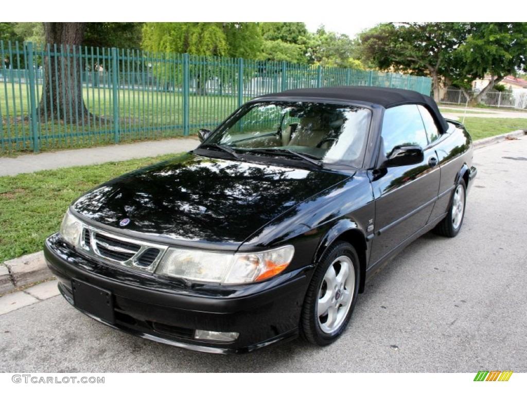 2001 black saab 9 3 se convertible 51288543 car color galleries. Black Bedroom Furniture Sets. Home Design Ideas