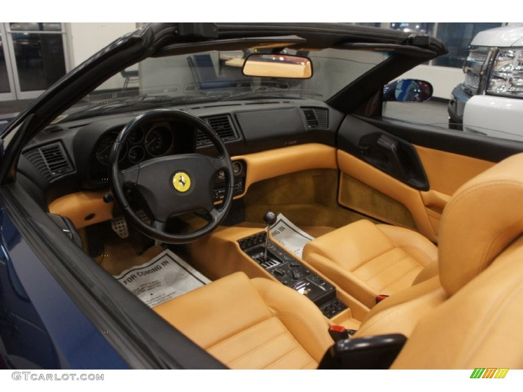 tan interior 1995 ferrari f355 spider photo 51299506. Black Bedroom Furniture Sets. Home Design Ideas