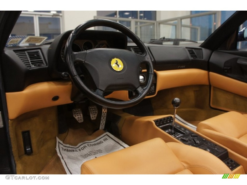 tan interior 1995 ferrari f355 spider photo 51299677. Black Bedroom Furniture Sets. Home Design Ideas
