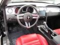 Black/Red 2008 Ford Mustang Interiors