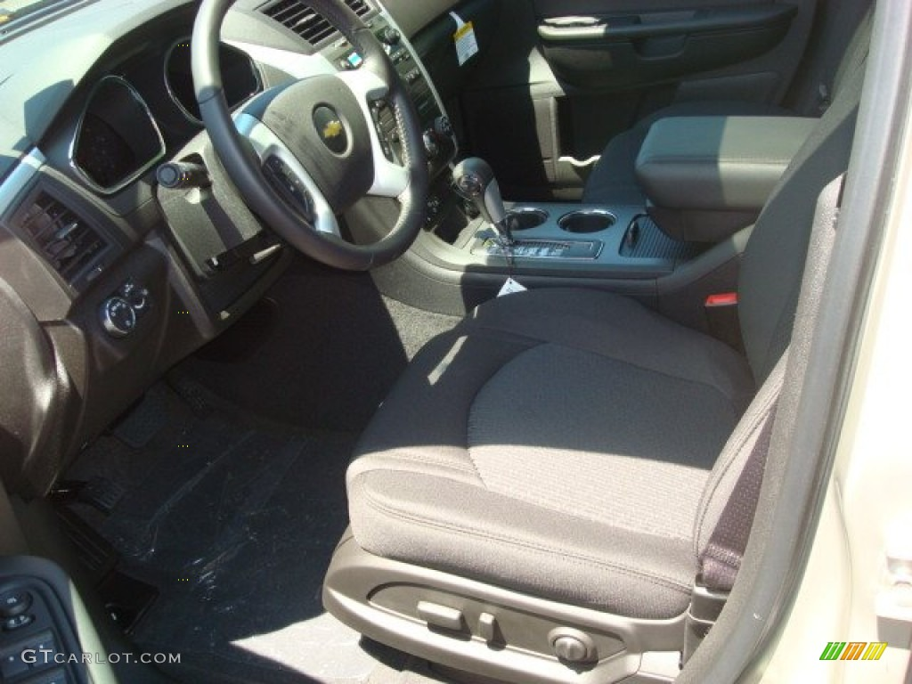 2011 Gold Mist Metallic Chevrolet Traverse Lt Awd 51287572 Photo 2 Car Color