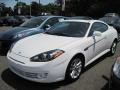 2008 Captiva White Hyundai Tiburon GS  photo #1