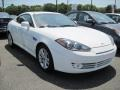 2008 Captiva White Hyundai Tiburon GS  photo #4