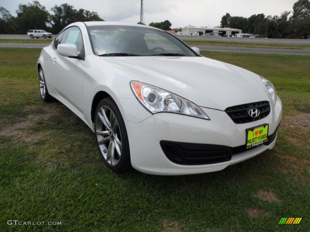 2011 karussell white hyundai genesis coupe 2 0t r spec. Black Bedroom Furniture Sets. Home Design Ideas