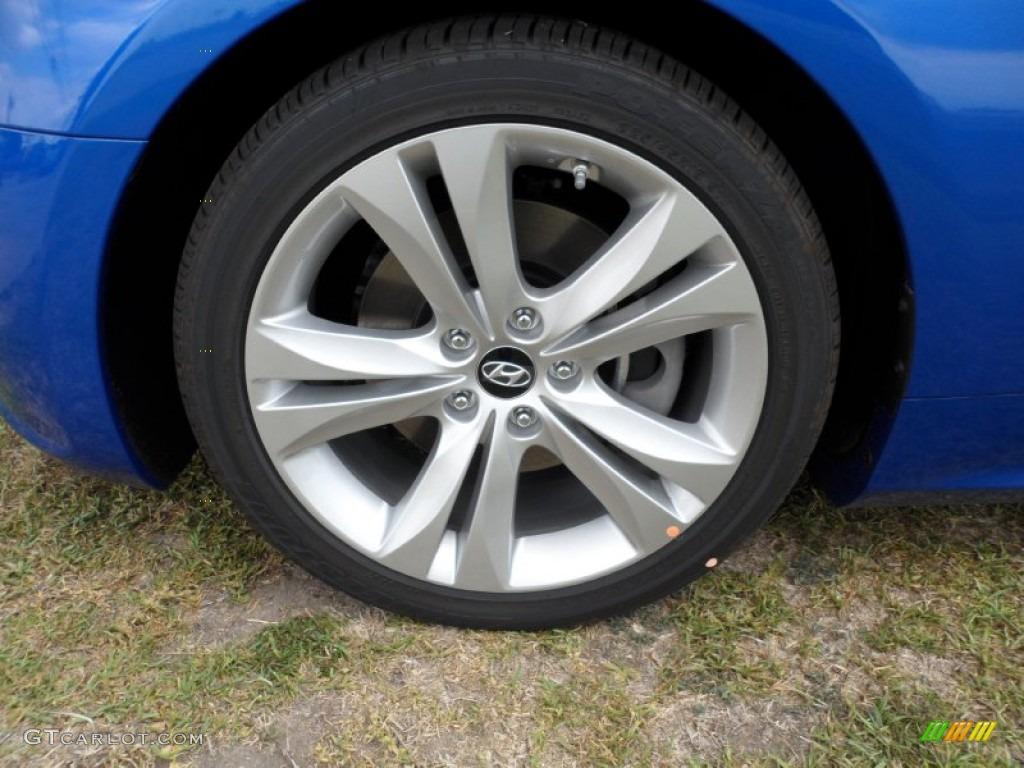 2011 Hyundai Genesis Coupe 2 0t Premium Wheel Photo