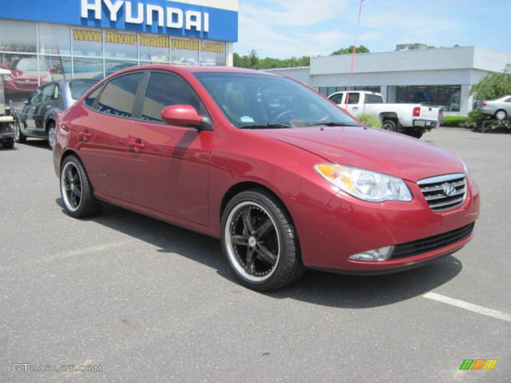 2009 Hyundai Elantra Gls Sedan Custom Wheels Photo