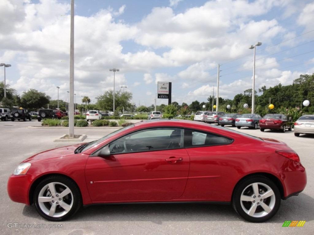 Crimson Red 2006 Pontiac G6 Gtp Coupe Exterior Photo 51336847 Gtcarlot Com