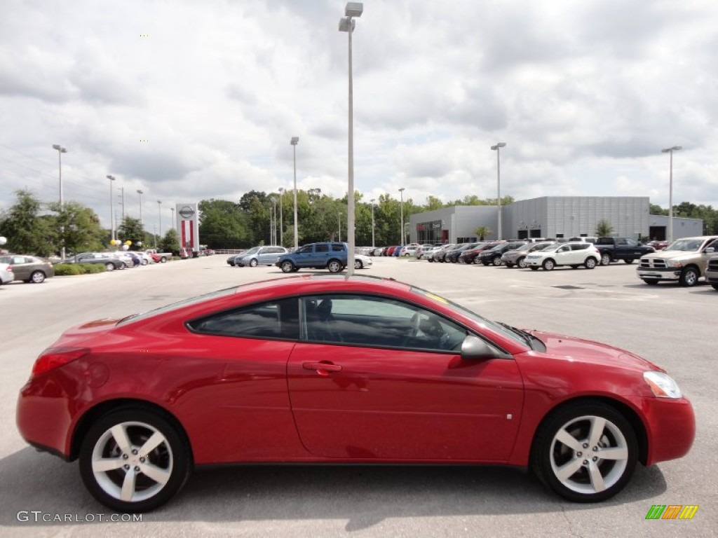 Crimson Red 2006 Pontiac G6 Gtp Coupe Exterior Photo 51336946 Gtcarlot Com