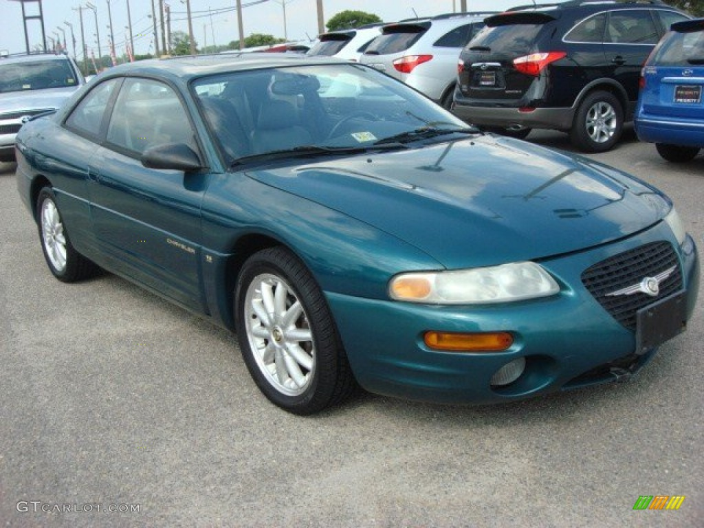 polo green 1998 chrysler sebring lxi coupe exterior photo. Black Bedroom Furniture Sets. Home Design Ideas