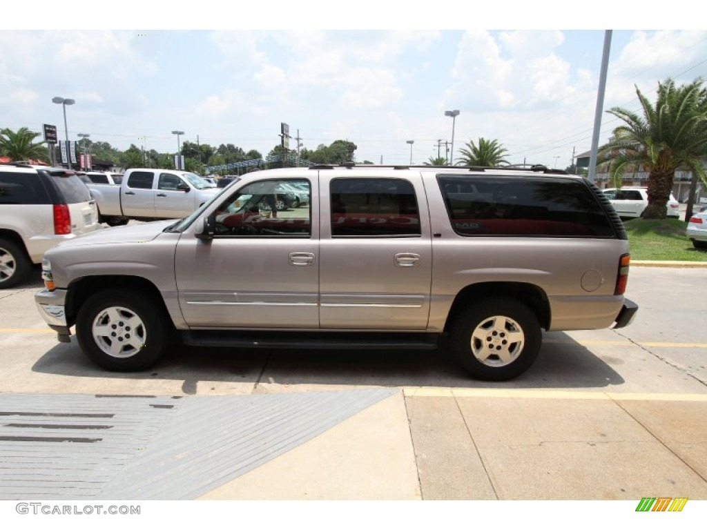 Metallic 2005 Chevrolet Suburban 1500 LT Exterior Photo #51344668