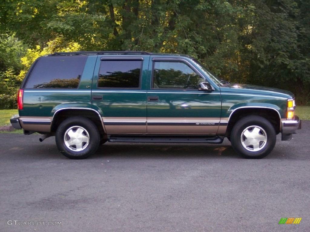 emerald green metallic 1998 chevrolet tahoe lt 4x4 exterior photo 51352577. Black Bedroom Furniture Sets. Home Design Ideas