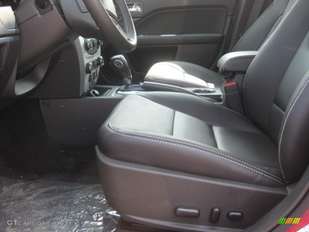 Charcoal Black Interior 2012 Ford Fusion SEL Photo 51364751