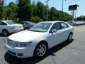2008 White Suede Lincoln MKZ Sedan  photo #1