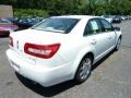 2008 White Suede Lincoln MKZ Sedan  photo #4