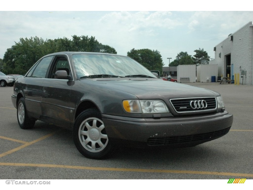 Cashmere Grey Metallic 1996 Audi A6 2 8 Quattro Sedan