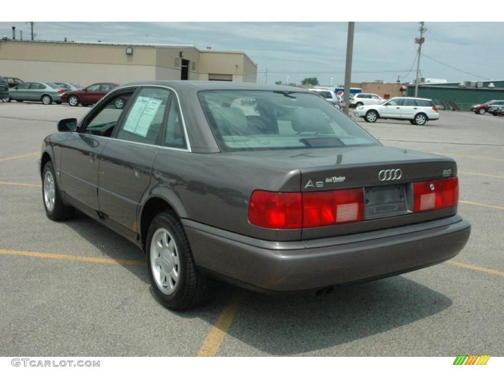 Cashmere Grey Metallic 1996 Audi A6 2 8 Quattro Sedan