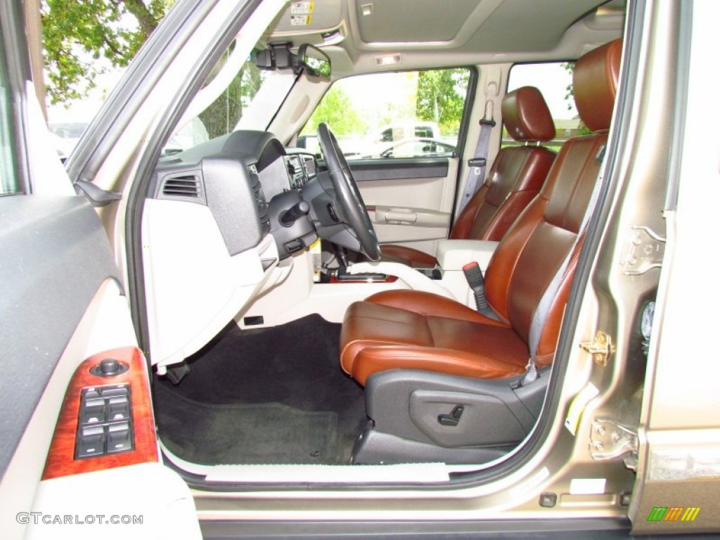 2006 Jeep Commander Limited Interior Colors
