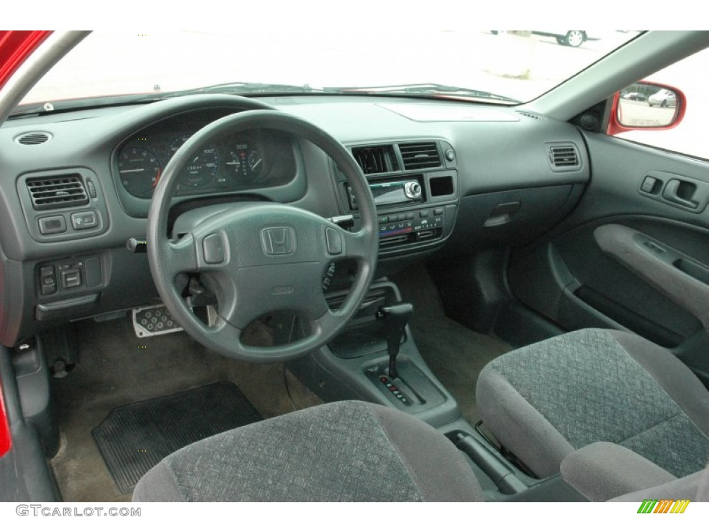 Attractive Gray Interior 1998 Honda Civic EX Coupe Photo #51390818 Great Ideas