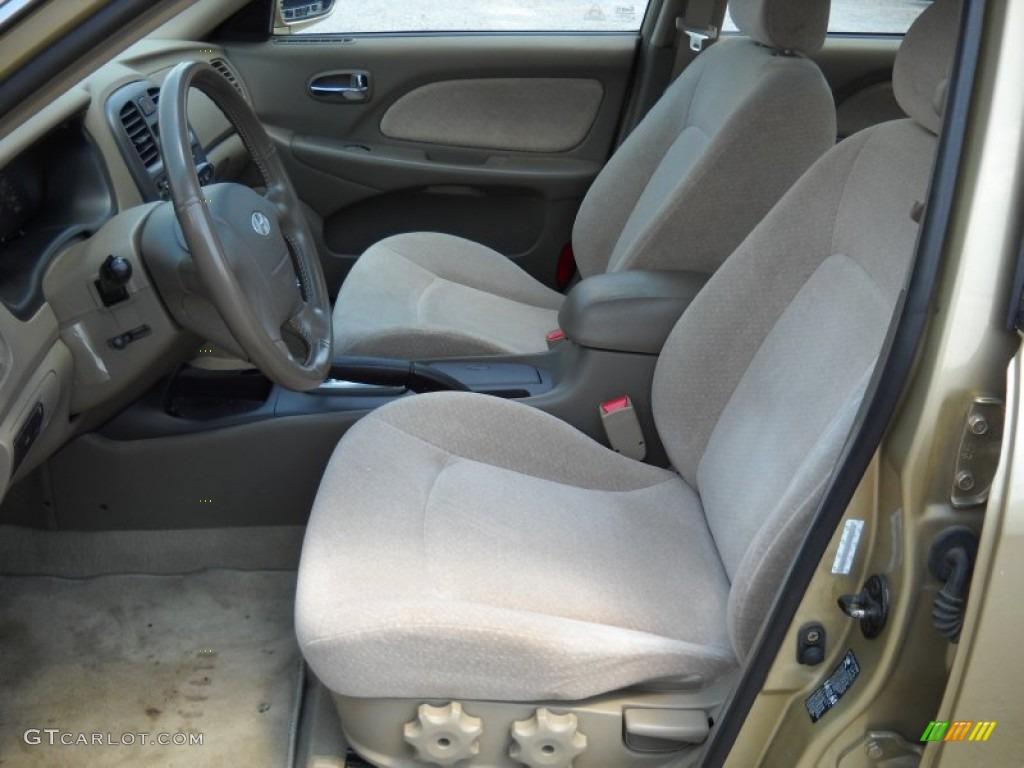 Beige interior 2004 hyundai sonata v6 photo 51390845 for Hyundai sonata 2006 interior