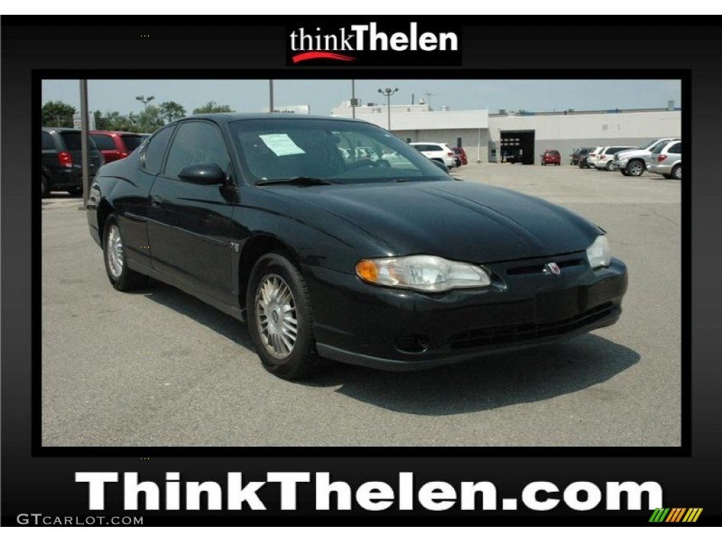 2000 Monte Carlo LS - Black / Dark Pewter photo #1