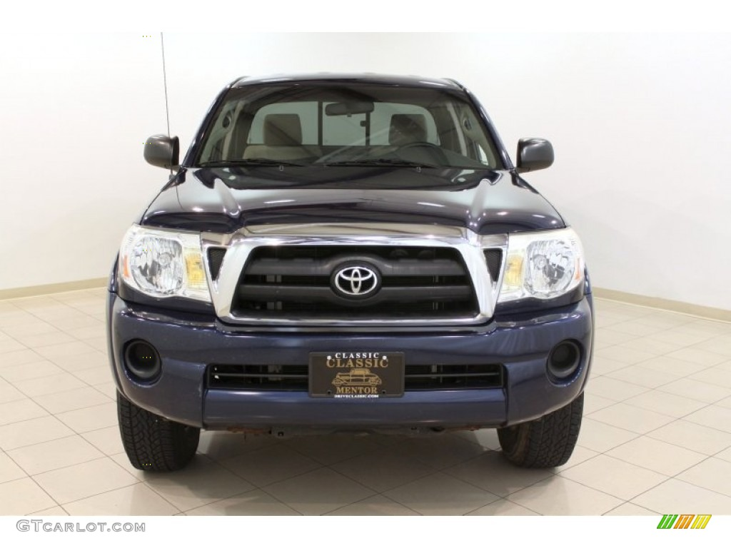 2005 indigo ink blue pearl toyota tacoma access cab 4x4. Black Bedroom Furniture Sets. Home Design Ideas
