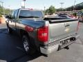 2011 Steel Green Metallic Chevrolet Silverado 1500 LS Extended Cab 4x4  photo #5