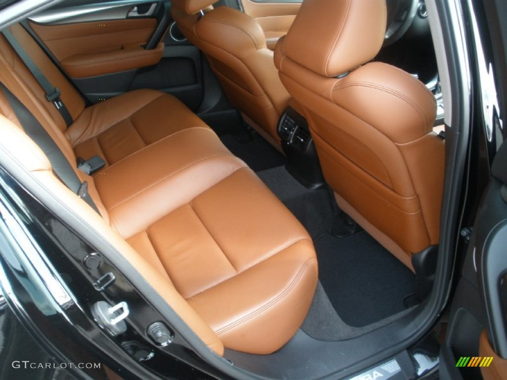 Umber Brown Interior 2010 Acura Tl 3 7 Sh Awd Technology Photo 51400493