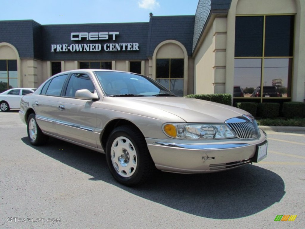 1998 light parchment gold metallic lincoln continental 51288928 car color. Black Bedroom Furniture Sets. Home Design Ideas