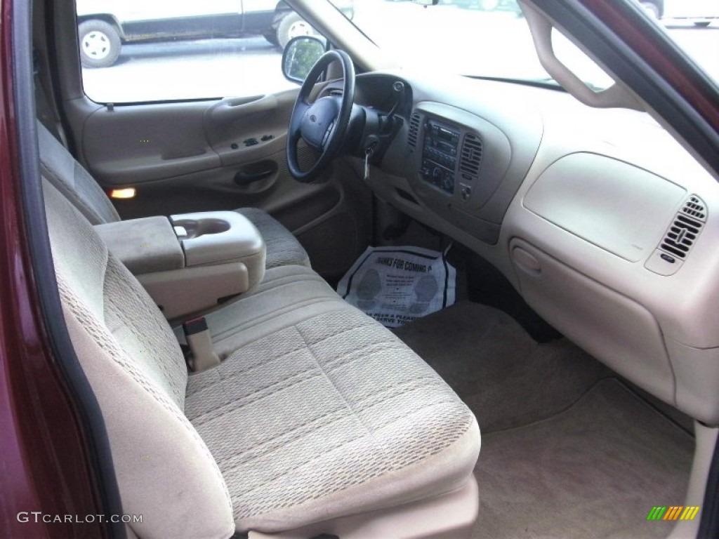 medium graphite interior 1998 ford f150 xlt regular cab photo 51414034