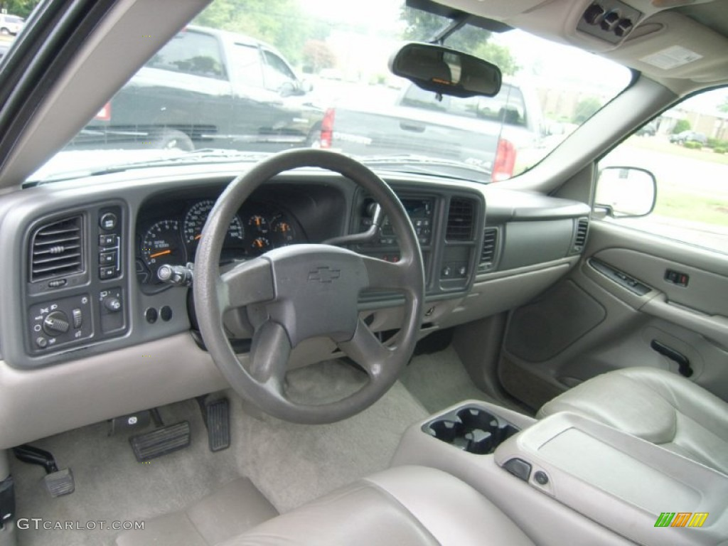 Tan/Neutral Interior 2005 Chevrolet Tahoe LS 4x4 Photo ...