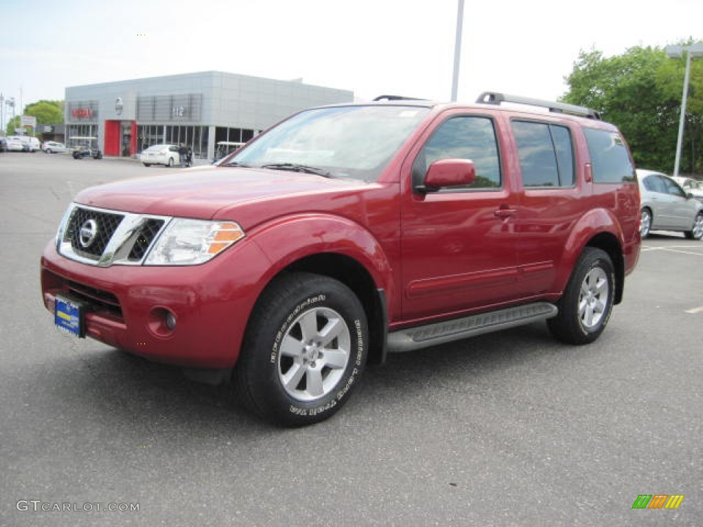 2009 red brick nissan pathfinder se 4x4 51289504 gtcarlot red brick nissan pathfinder vanachro Images