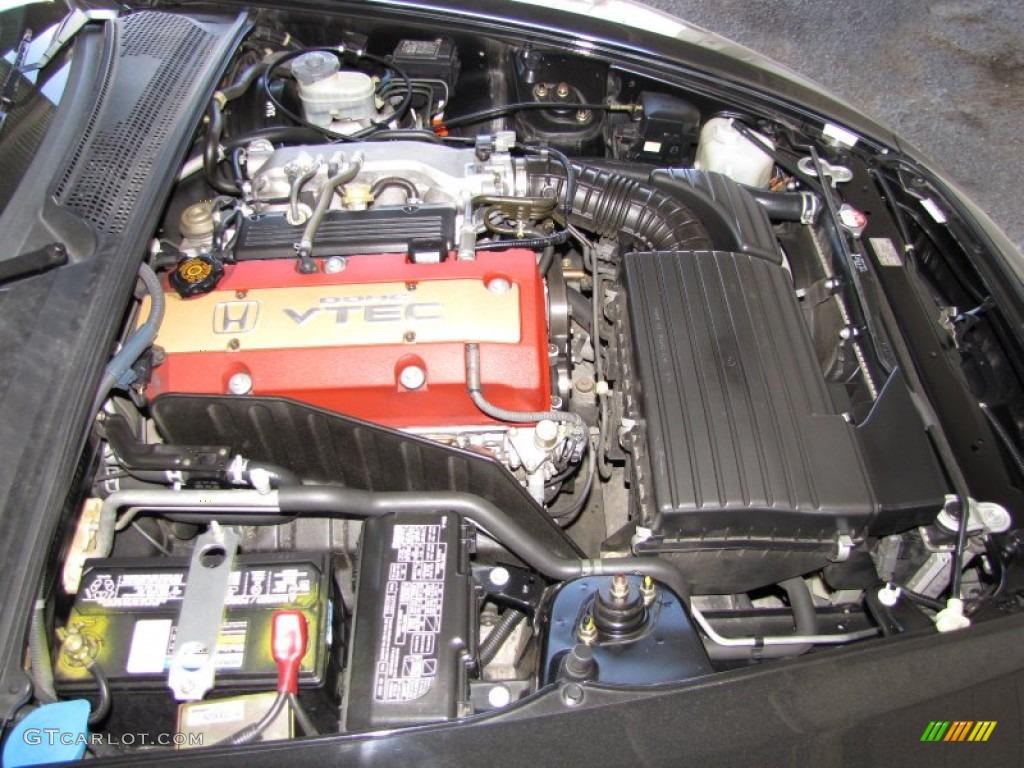 2000 Honda S2000 Roadster 2 0 Liter Dohc 16 Valve Vtec 4